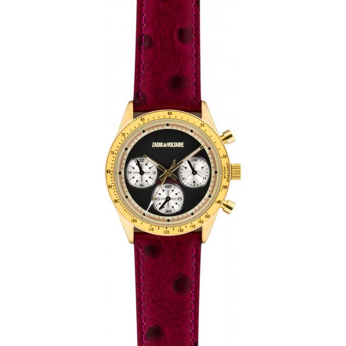 montre zadig et voltaire master zvm105 montre cuir rouge femme sur bijourama montre femme. Black Bedroom Furniture Sets. Home Design Ideas