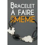 Bracelet personnalisable à faire soi-même - Les bijoux de Pauline et Victoria