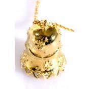 Collier Cloche en Or jaune - Corpus Christi