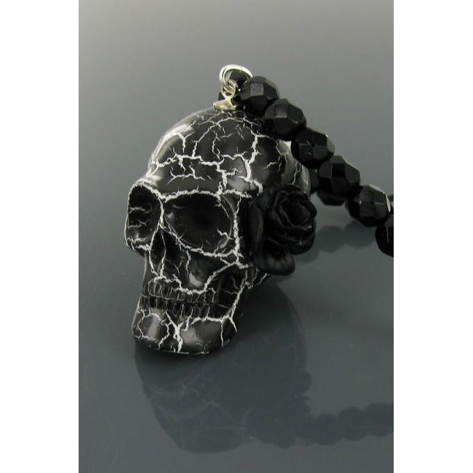 Les bijoux de sophie bijoux fantaisie bague bracelet - Tete de mort fleur ...